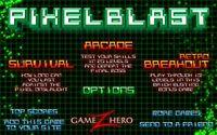 Video Game: Pixel Blast
