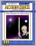 Issue: Action Check (The Races of Alternity)