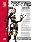 RPG Item: Monsters of NeoExodus: Khaynite