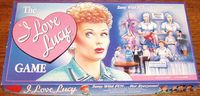 """Board Game: The """"I Love Lucy"""" Game"""