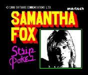 Video Game: Samantha Fox Strip Poker