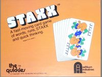 Board Game: Staxx