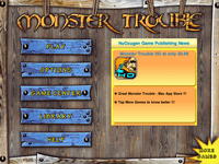 Video Game: Monster Trouble