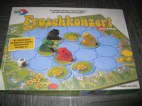 Board Game: Hop Little Frog