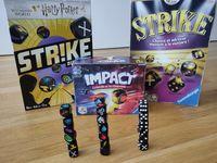 Board Game: Harry Potter Strike Dice Game