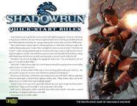 RPG Item: Shadowrun Quick-Start Rules