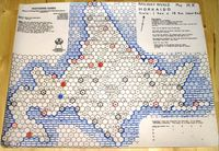 Board Game: Railway Rivals Map HK: Hokkaido