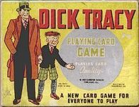Board Game: Dick Tracy Playing Card Game