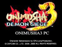 Video Game: Onimusha 3: Demon Siege
