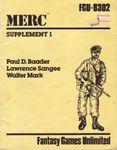 RPG Item: Merc: Supplement 1