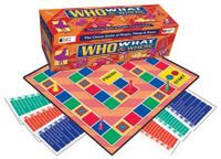 Board Game: Who, What & Where
