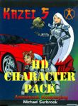 RPG Item: Kazei 5 Character Pack (HD Character Pack)