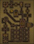 RPG Item: VTT Map Set 204: Beneath the Fifth Pyramid