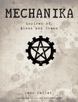 RPG Item: Mechanika: Empires of Blood and Steam Demo Packet