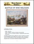Board Game: Battle of New Orleans