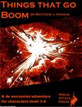 RPG Item: Things That Go Boom