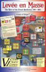 Board Game: Levée en Masse: The Wars of the French Revolution, 1789-1802