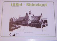 Board Game: 18Rhl: Rhineland