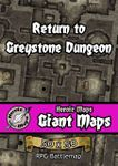 RPG Item: Heroic Maps Giant Maps: Return to Greystone Dungeon