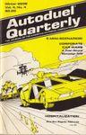 Issue: Autoduel Quarterly (Vol. 4, No. 4 - Winter 2036)