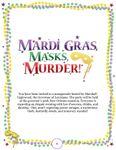 RPG Item: Mardi Gras, Masks, Murder!