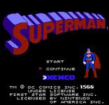 Video Game: Superman (NES)