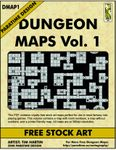 RPG Item: DMAP1: Dungeon Maps Vol. 1