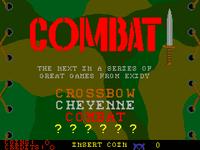 Video Game: Combat (Arcade Game)