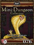 RPG Item: Mini-Dungeon Collection 076: The Great Library (5E)