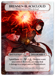 Board Game Accessory: Ashes: Rise of the Phoenixborn – Brennen Blackcloud Alternate Art