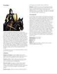 RPG Item: Classes of Fantasy: Cavalier