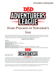 RPG Item: DDEX1-11: Dark Pyramid of Sorcerer's Isle