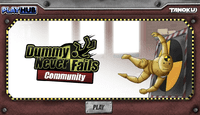 Video Game: Dummy Never Fails: Community