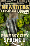 RPG Item: Meanders Synchable Terrain: Fantasy City - Spring 1