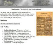 RPG Item: Erebus: The Herald