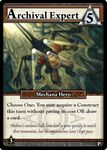 Board Game: Ascension: Archival Expert Promo Card