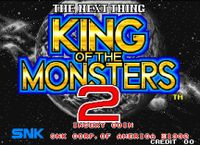 Video Game: King of the Monsters 2