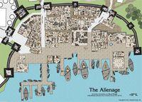 RPG Item: Alienage District Map