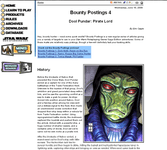 RPG Item: Bounty Postings 4: Dool Pundar: Pirate Lord