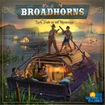 Board Game: Broadhorns: Early Trade on the Mississippi