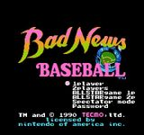 Video Game: Bad News Baseball