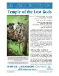 RPG Item: Temple of the Lost Gods