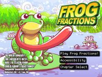 Video Game: Frog Fractions
