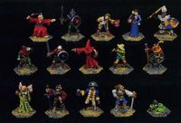 Board Game Accessory: Talisman: Figures