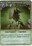 Board Game: Mage Wars: Altar of the Iron Guard Promo Card