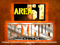 Video Game Compilation: Area 51/Maximum Force Duo