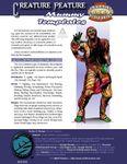 RPG Item: Creature Feature: Mummy Templates