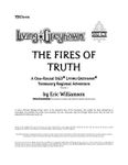 RPG Item: YEO2-01: The Fires of Truth