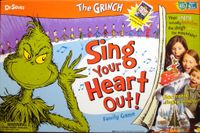 Board Game: The Grinch: Sing Your Heart Out!