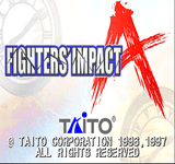 Video Game: Fighters' Impact A